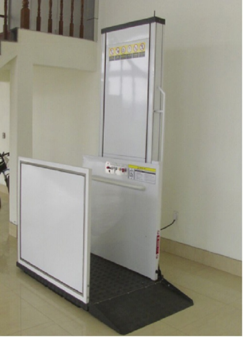 Hydraulic Wheelchair Platform Lift for Disabled People