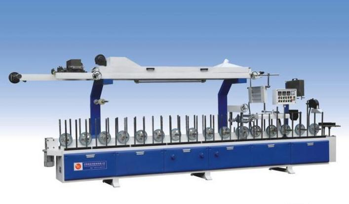 Rhino Woodworking PVC Cold Glue Profile Wrapping Machine