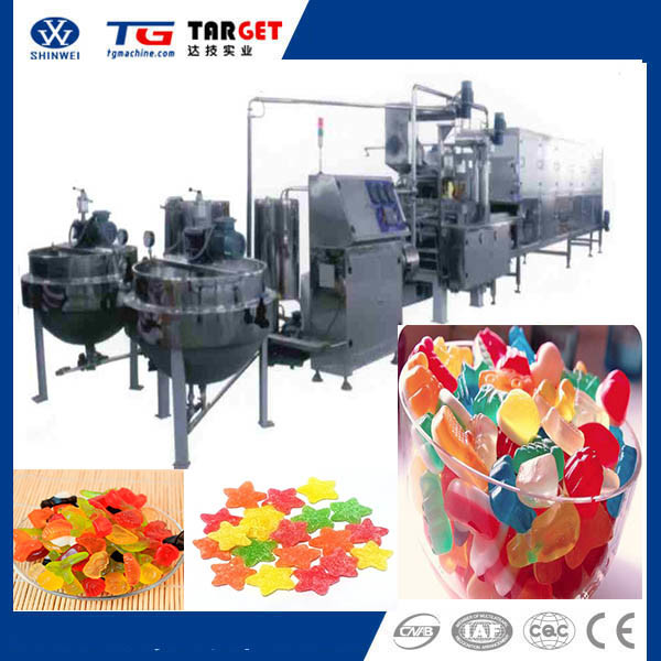 Jelly Candy Depositing Production Line (GD150Q)