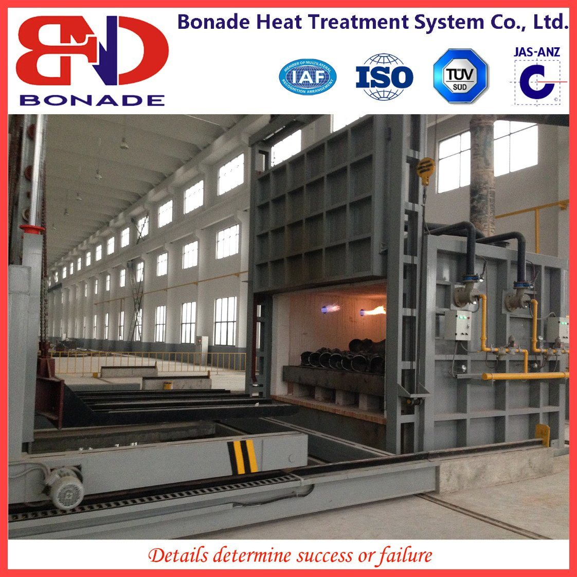 Bonade 10t Steel Water-Quench Furnace with Manipulator