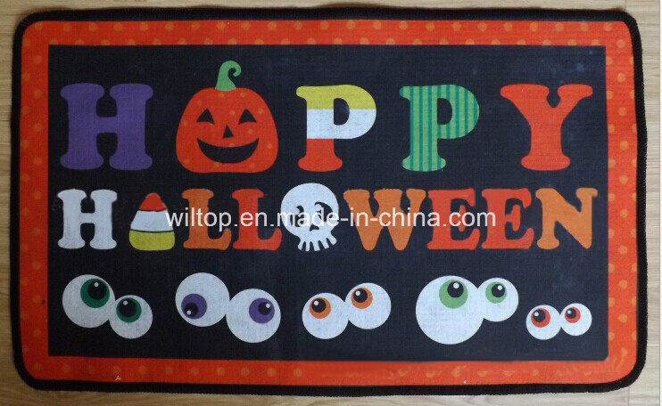 Non-Slip Halloween Design Rug Door Mats (DH001)