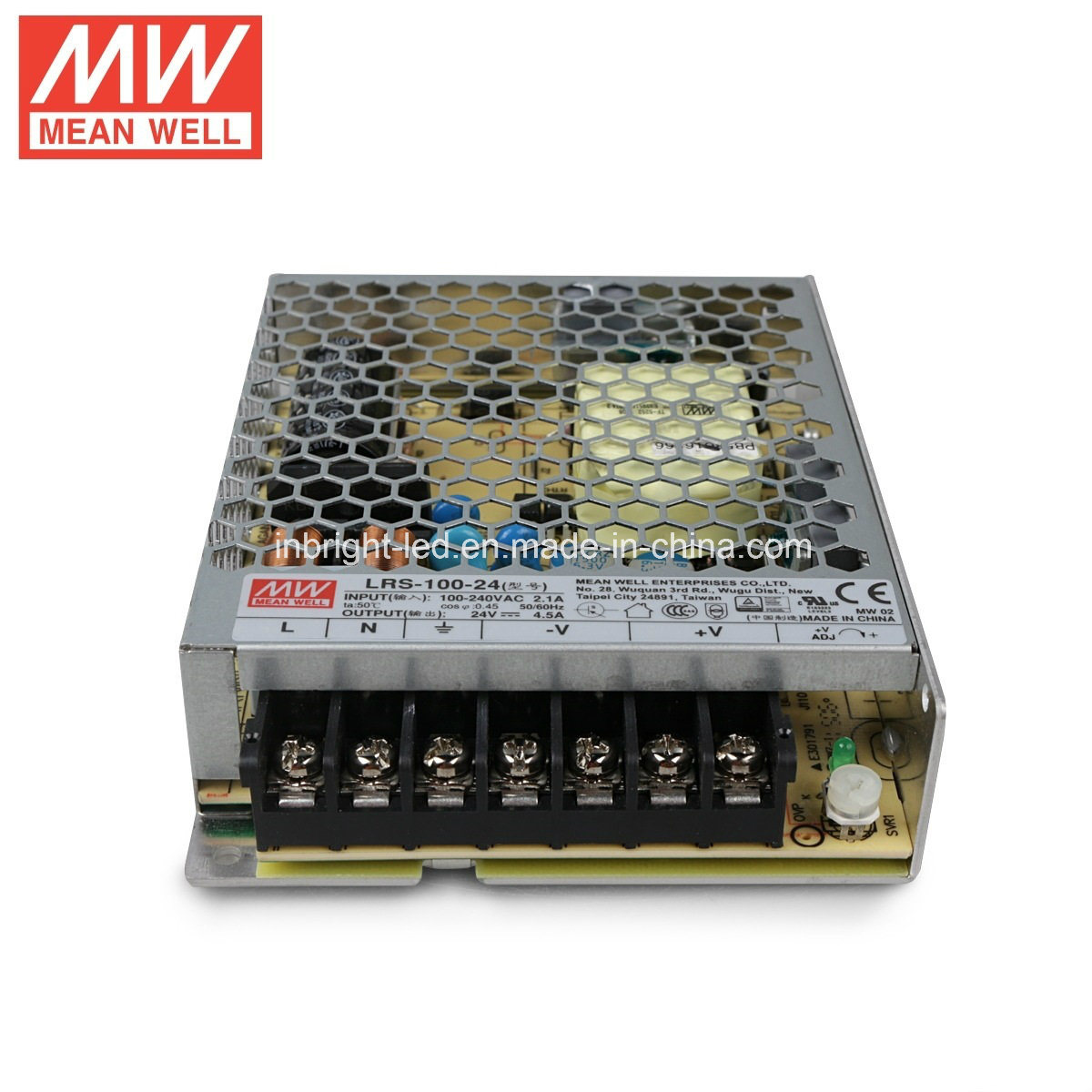 100W Lrs Series Meanwell LED Power Supply/Driver/Transformer