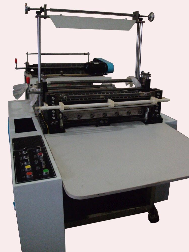 Single Layer HDPE/LDPE PE Plastic Film Cold Cutting Machinery (TR-FC600)