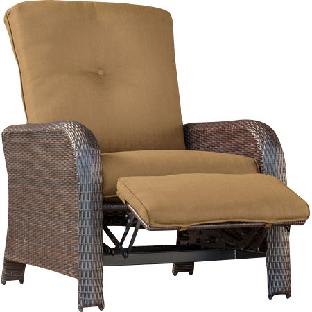 Well Furnir J012 Luxury Recliner Chair with Cushions