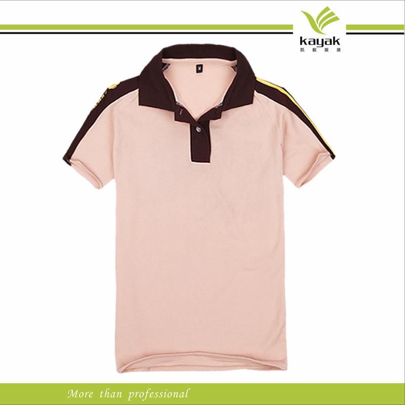 China fashion unisex design plain polo shirts for work for Work uniform polo shirts