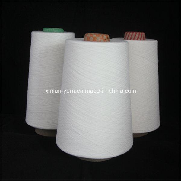 Hot Sale Ring Spun Raw White Viscose Yarn for Weaving