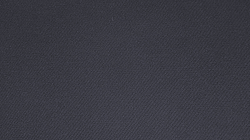 T/R /Sorona Twill Solid Fabric Navy
