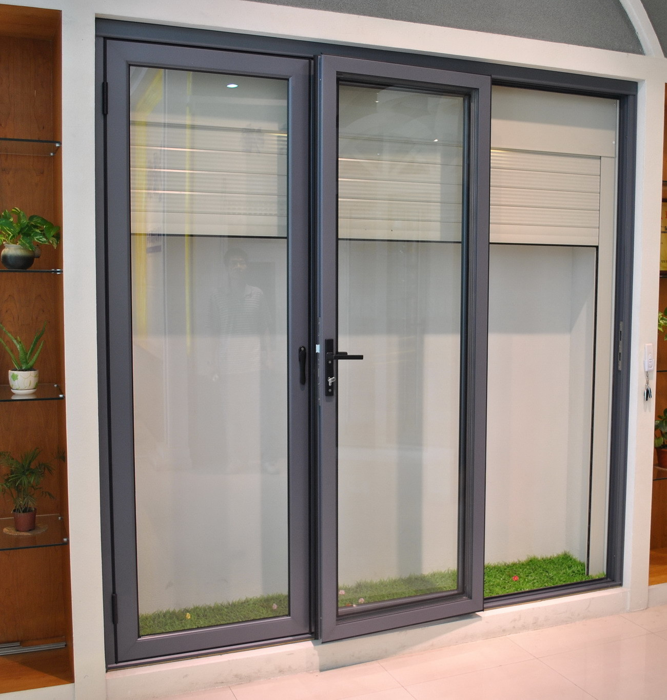 2014 Folding Design Best Price Aluminium Doors