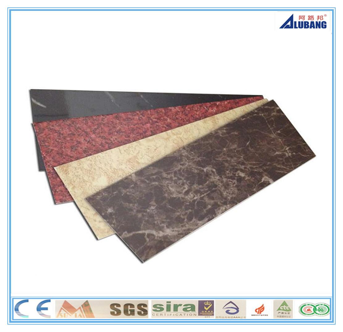 Building Construction Material Aluminum Plastic Composite Panel (ALB-010)
