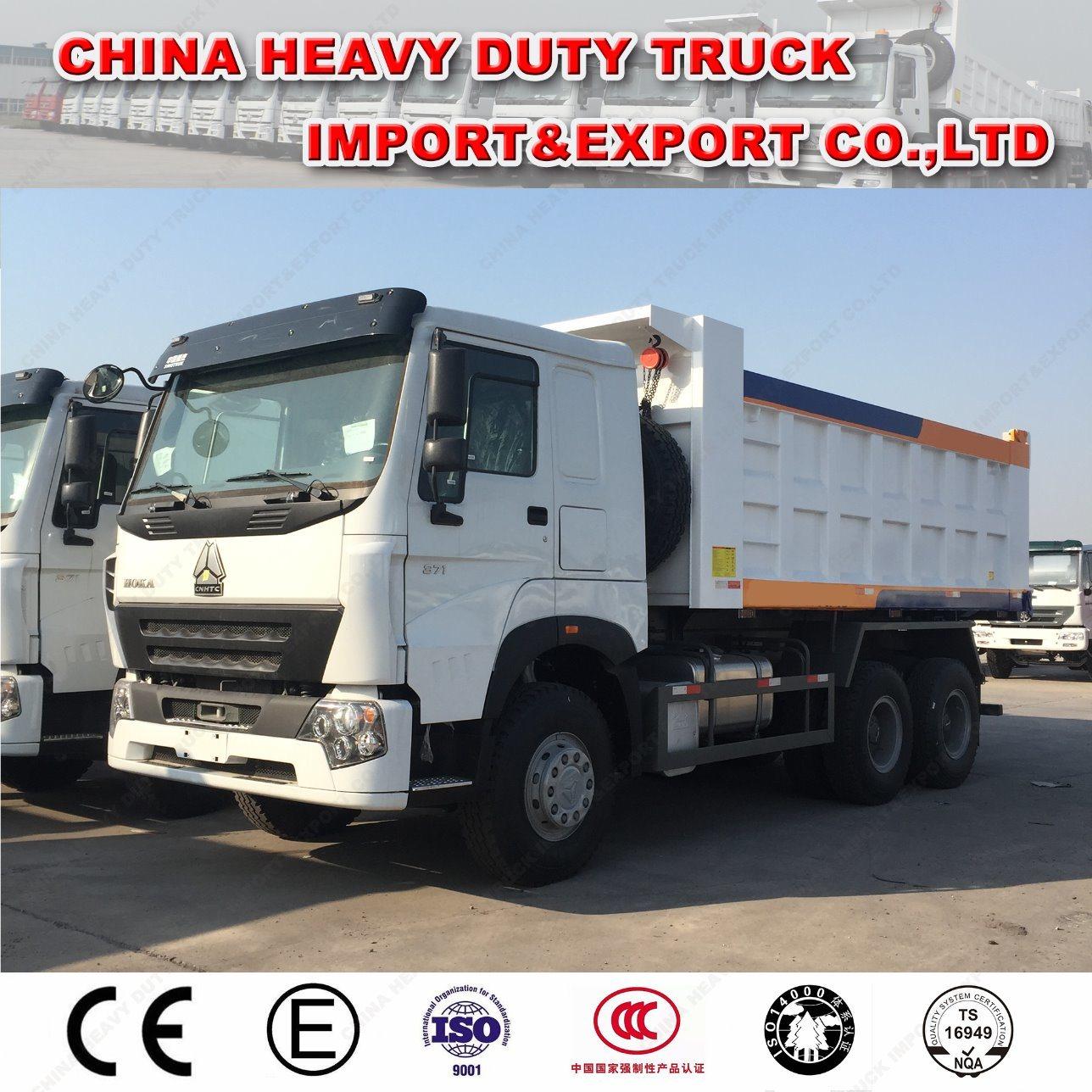 Sinotruk HOWO A7 10 Wheel Tipper/Dump Truck for Transportation