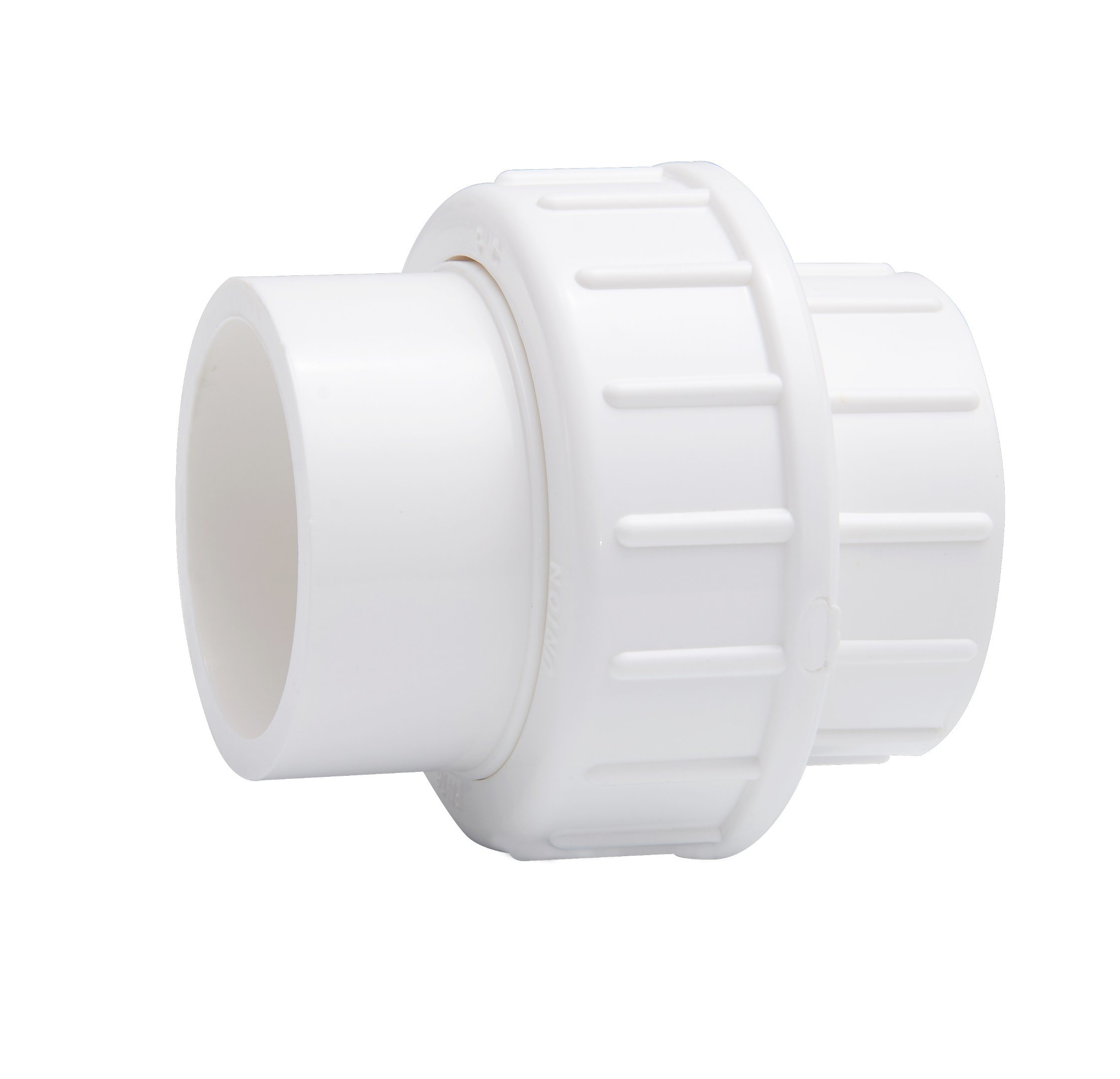 Plastic UPVC PVC Pipe Union/Pipe Fitting/Union Connector/Coupling ASTM Sch White (S*S, BS, ANSI, DIN, JIS Standard)