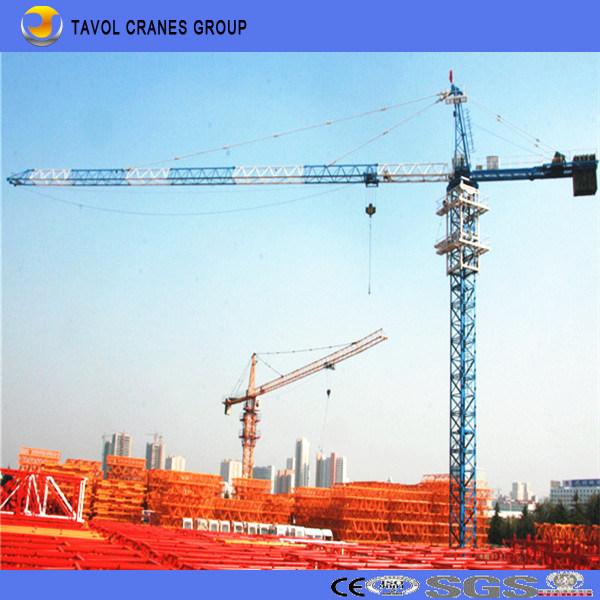 Qtz63 5013 6t China Ce ISO Construction Building Top Kits Tower Crane Manufacturer