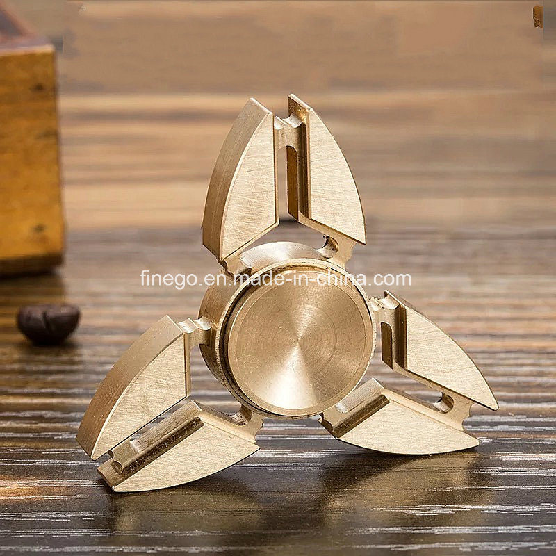LED Factory China ABS Alloy Metal Hand Fidget Spinner Toys