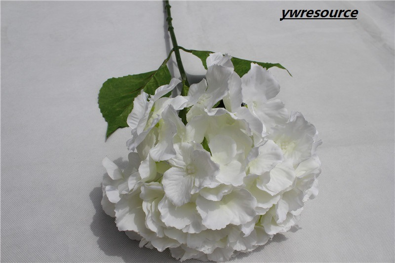 Wedding Decorative Artificial Flower White Artificial Hydrangea Flowers