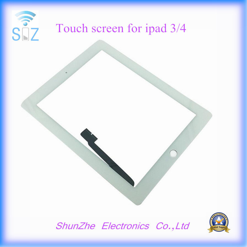 Front Glass Touch Screen Digiziter for iPad 3 4 LCD