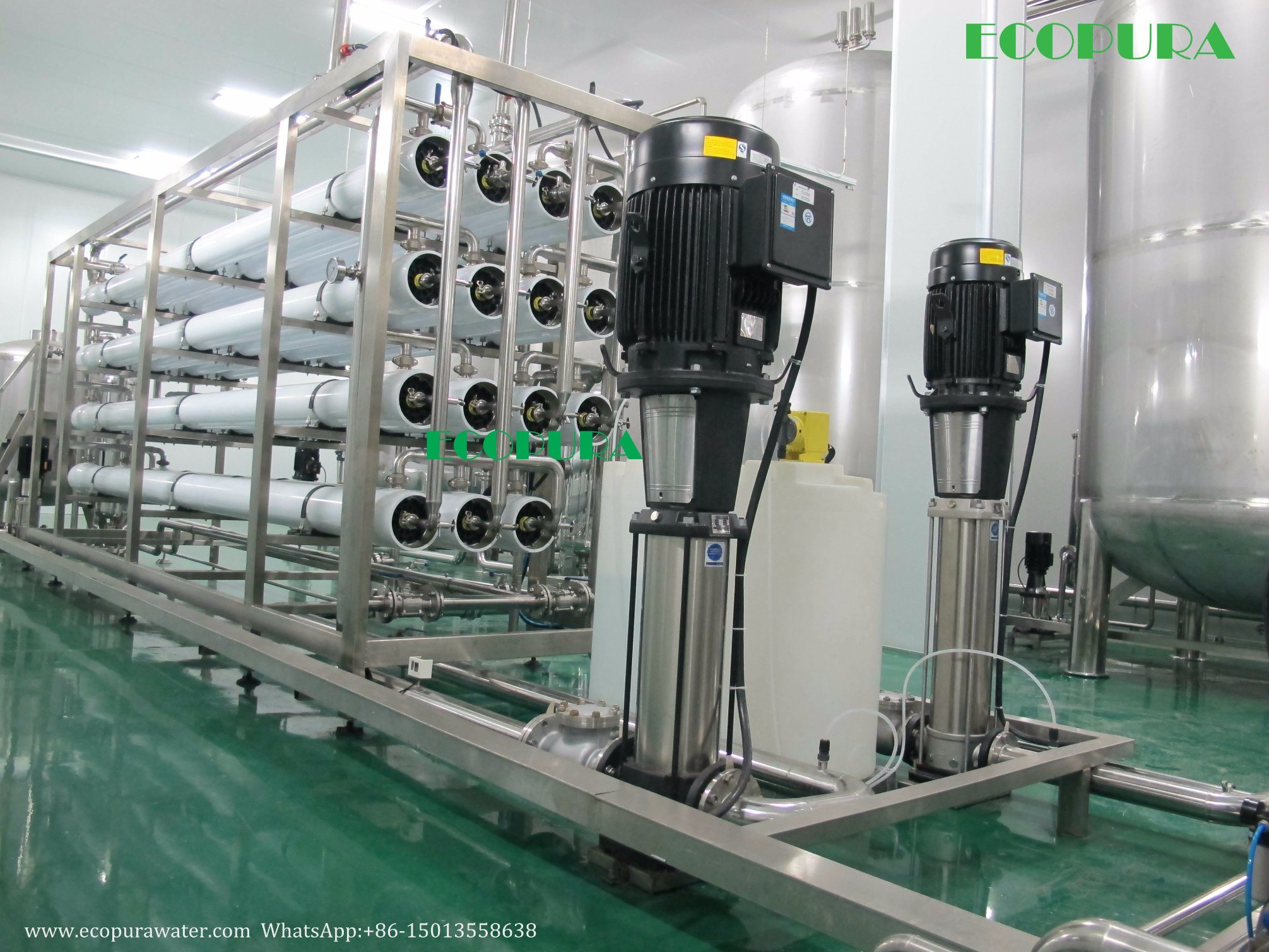 RO Water Filter System (Reverse Osmosis Water Treatment Plant)
