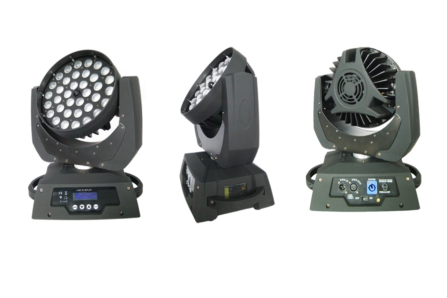 Zoom 36X10W 4in1 LED Moving Head Wash Light