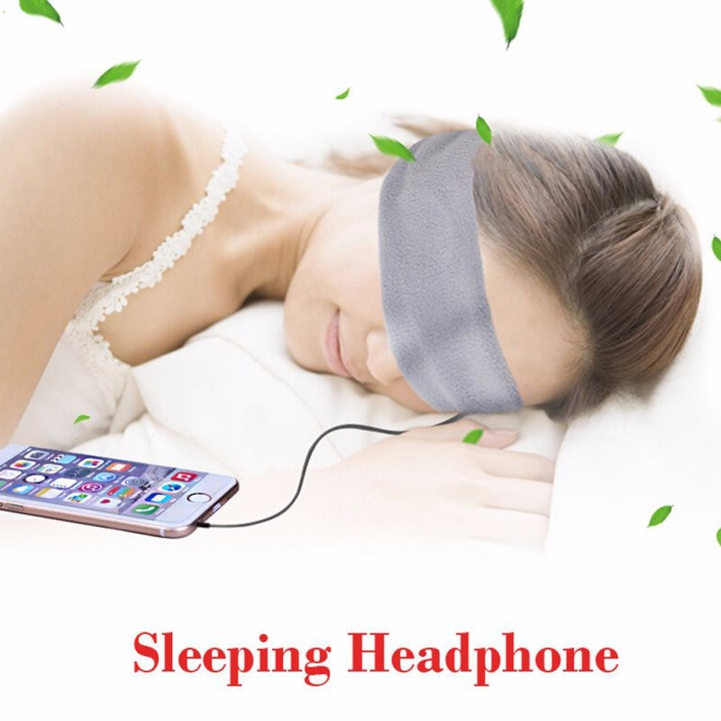 Sports Running Sleeping Earphones Bundle Music Headband Sleep Headphones