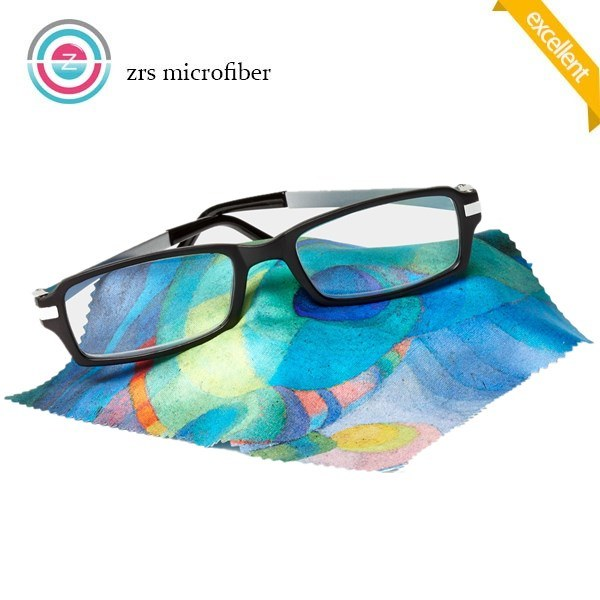Simple Colorful Custom Microfiber Lens Cleaning Cloth