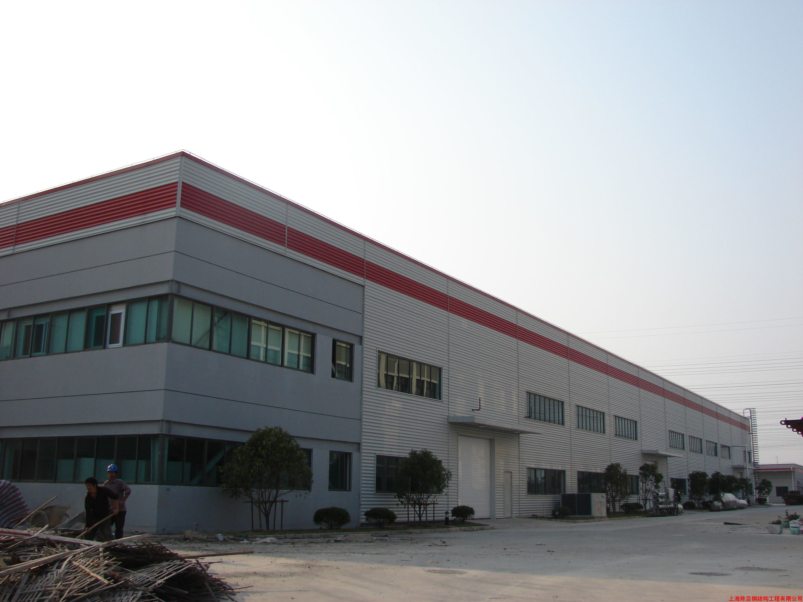 Steel Structure Steel Frame Bonded Warehouse