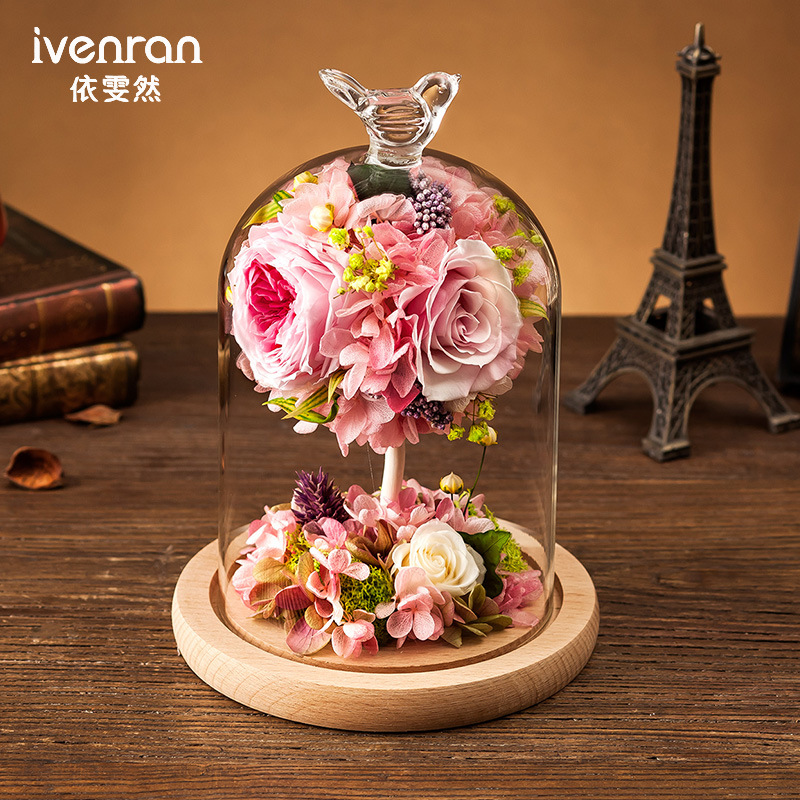 100% Natural Rose Flower for Valentine Gift