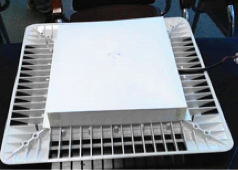 Driver Inside Waterproof LED Canopy Light Gas Station Lighting 150W 240W