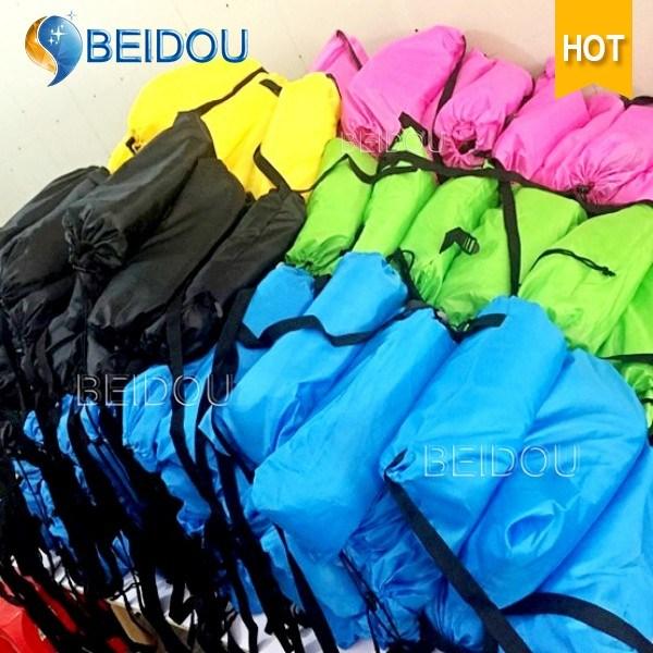 1-Mouth Inflatable Sleeping Bean Lazy Bag Laybag Air Sofa Bed