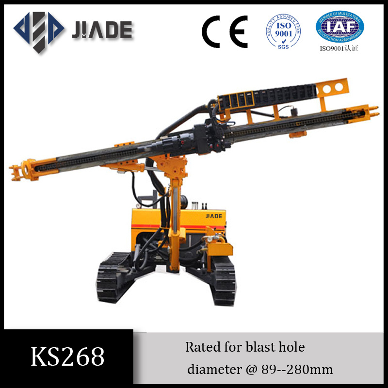 Ks268 All-Hydraulic Tracked Mining Drill