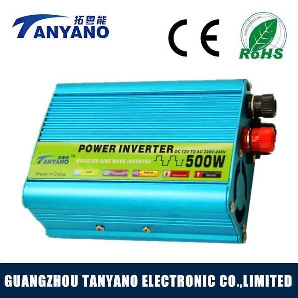 Solar 500W DC to AC Car Power Modified Inverter