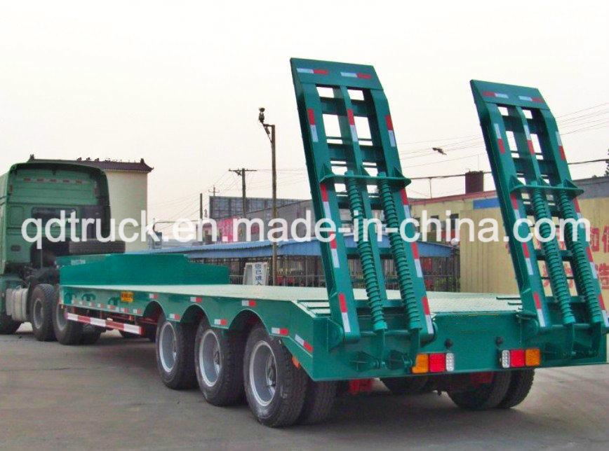 60 Tons lowbed, Tri-Axle Heavy Duty low boy trailers