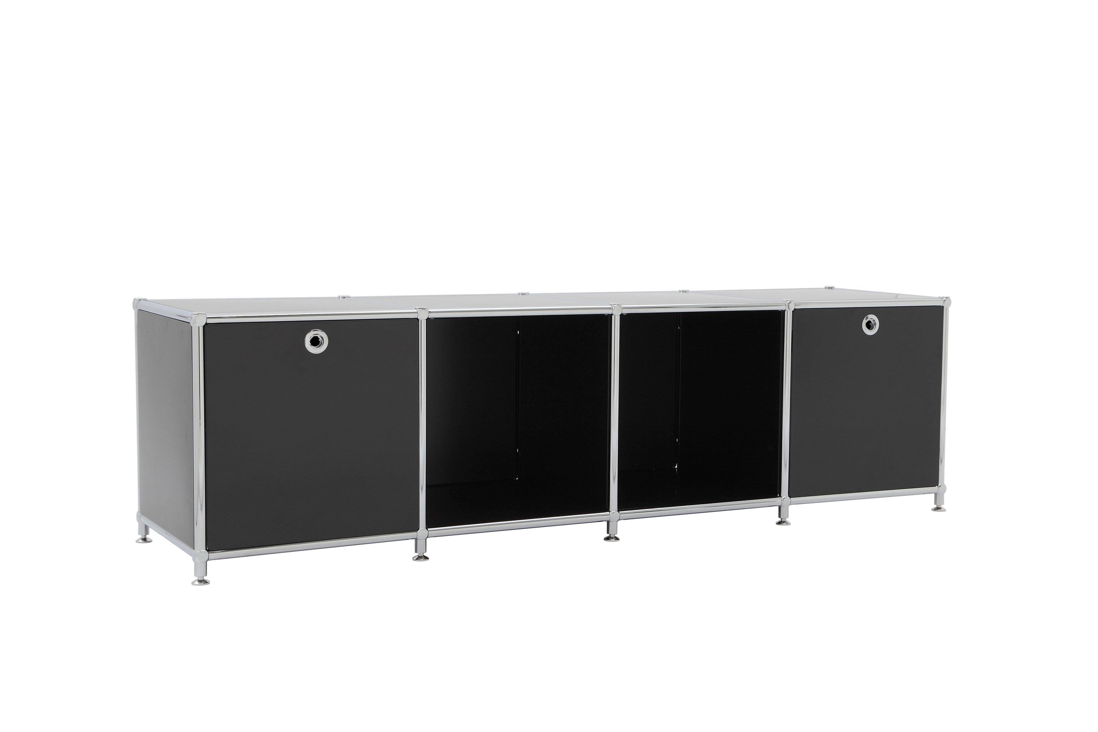 Modern Modular Office Storage Bookcase Steel Transcube Modular Filing Cabinet