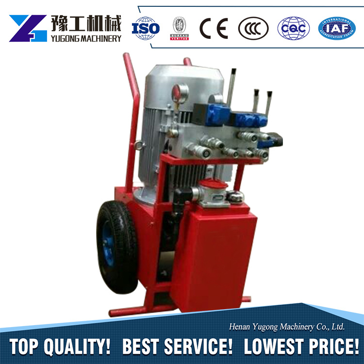 China Marble Granite Cutting Hydraulic Diamond Wire Saw with Factory ...