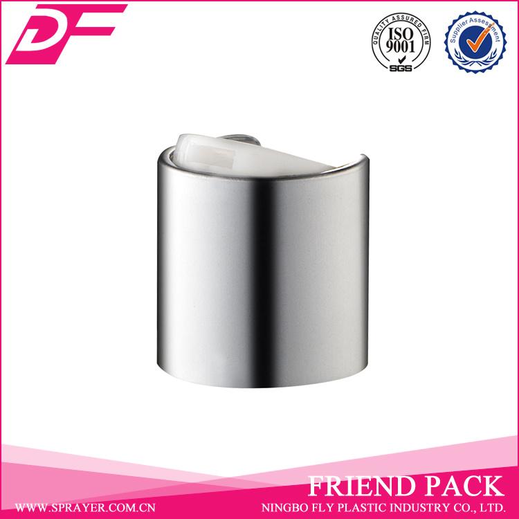 Shine Sliver and Gold 24/410 Aluminum Disc Top Cap