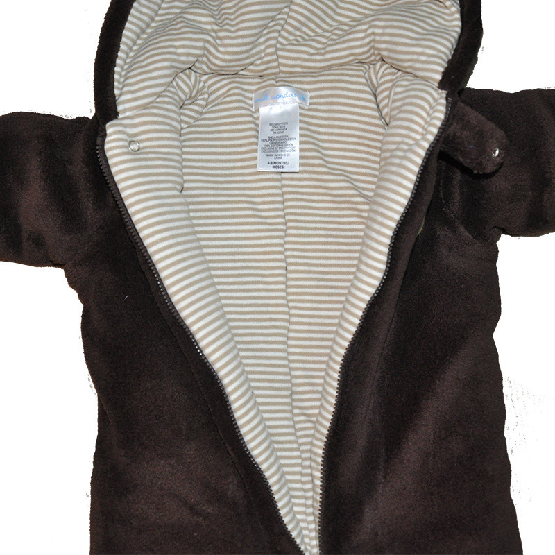 Baby Cotton Romper for Winter