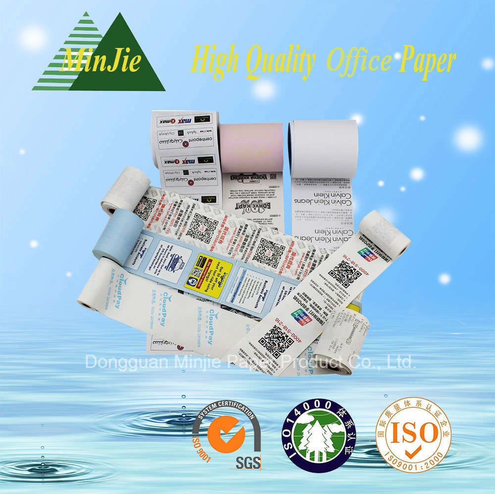 Promotional Thermal Printed Type Cash Register Paper Roll
