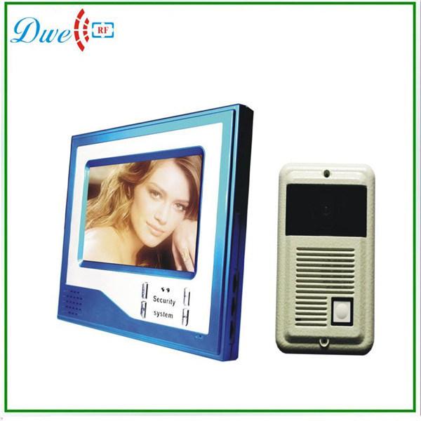 "Home Security 7"" Inch TFT Touch Screen LCD Color Video Door Phone Doorbell Intercom System Night Vision Eye Camera Doorphone"