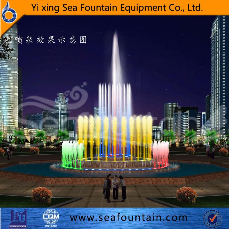European Style Music Interactive Fountain