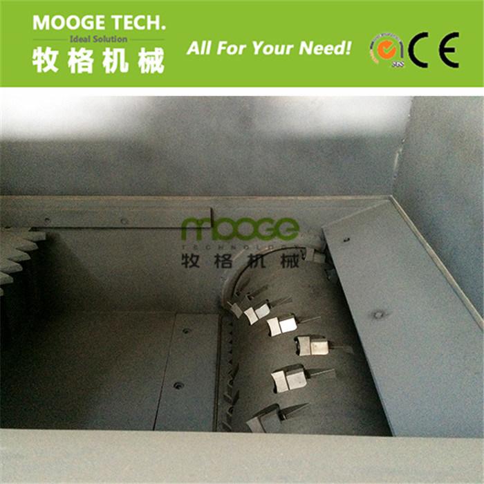 Waste Car Tire Rubber single shaft plastic shredder machine