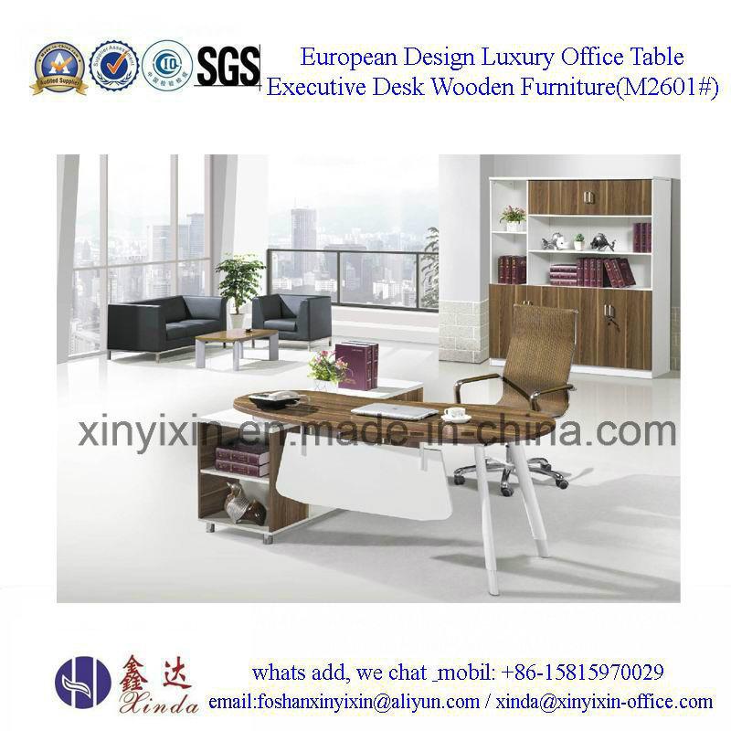 Malaysian Wooden Furniture Modern Melamine Office Desk (M2601#)