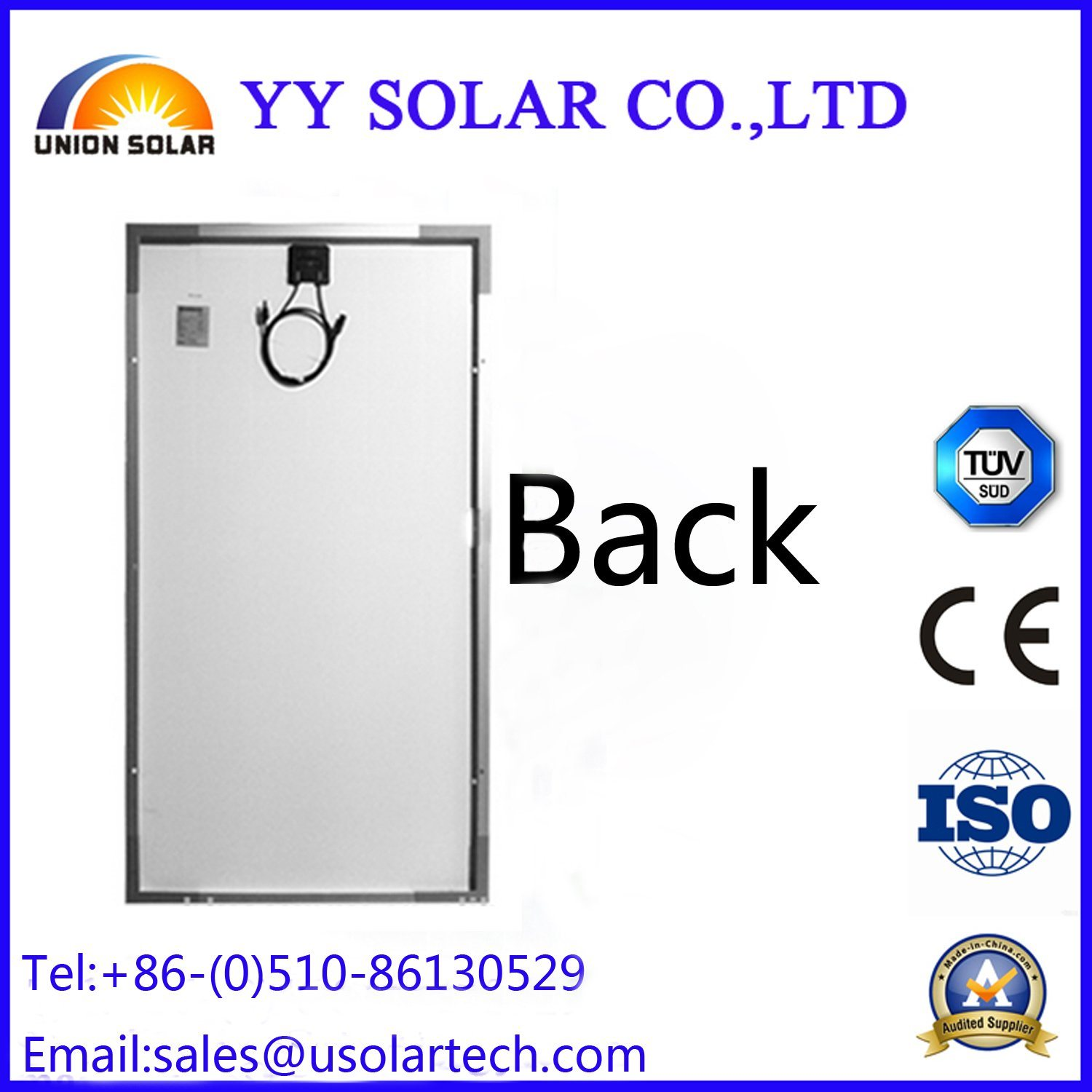50watt/40watt/30watt Solar Panel for Solar Traffic Lights