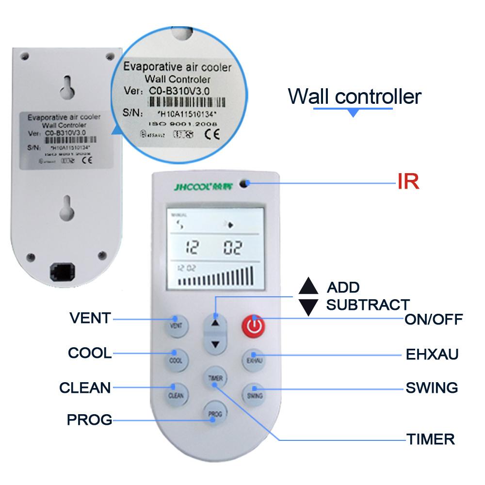 High Effecient Industrial Water Air Cooler Water Conditioner Fan