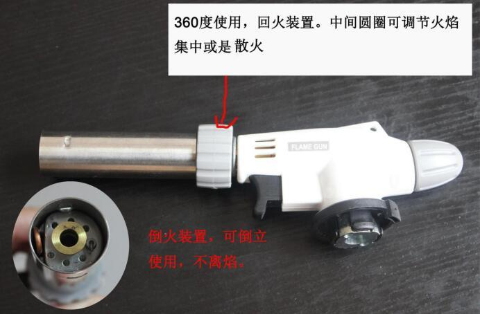 Gas Torch for BBQ Barbecue Mini Torch Butane Gas