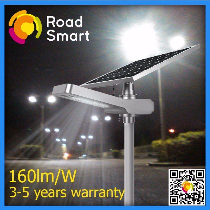 5000lm Outdoor Integrated Solar LED Street Garden Light for Light