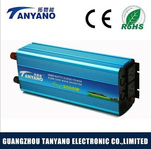 3000W DC to AC Pure Sine Wave Power Inverter