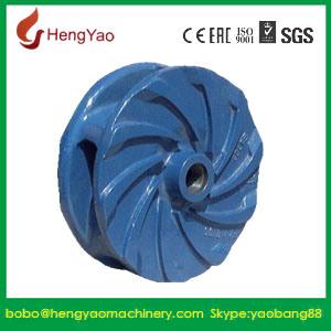 Horizontal Abrasion Resistant Slurry Pump Part Impeller-A05