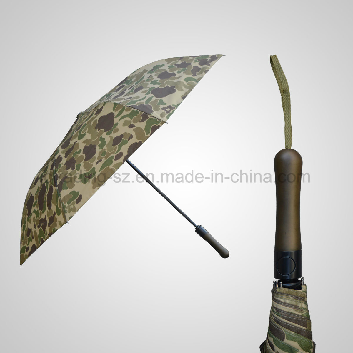 High Quality 2 Folding Automatic Open&Close Sun/Rain Umbrella (JF-AQT231)