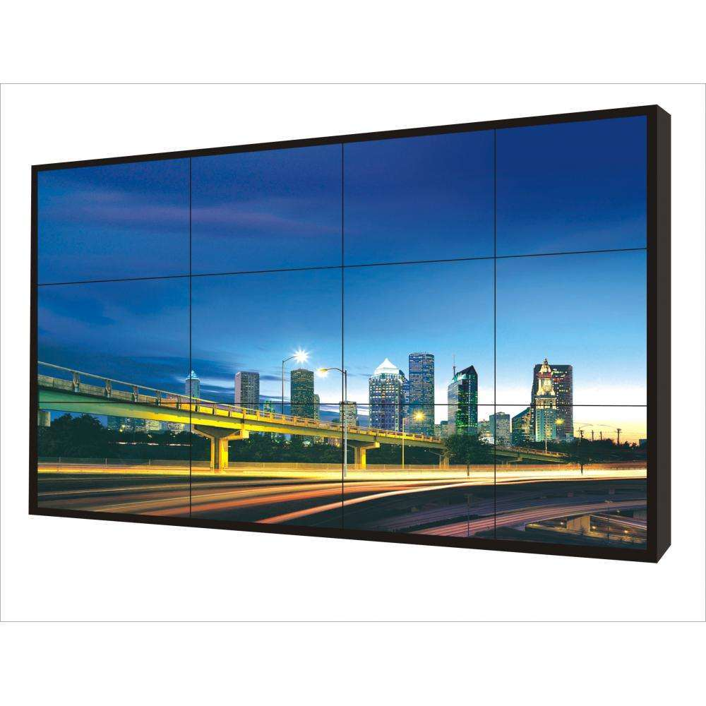 55 Inch Indoor 3.5mm LCD Video Wall Screens with Ultra Narrow Bezel