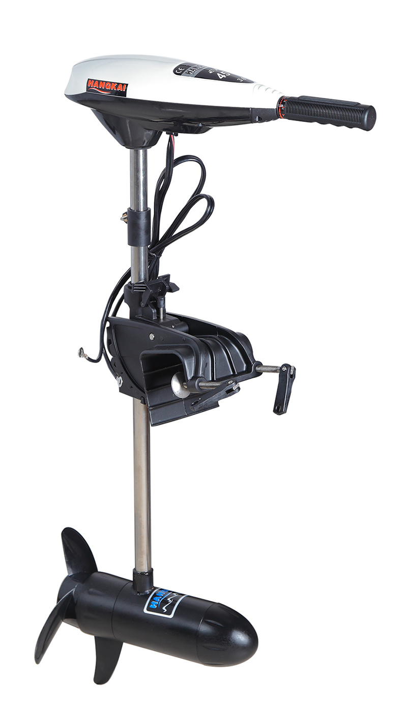 Hangkai 55lbs 12V Thrust Electric Outboard Boat Motor