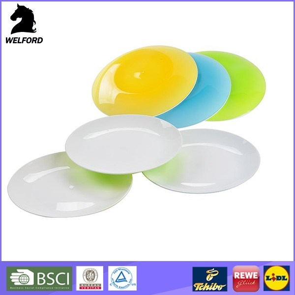 BPA Free High Quality Fashionable Plastic Plate