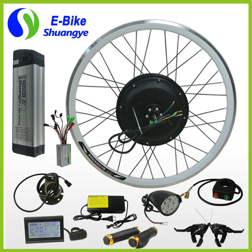 500W Basic Eletric Bike Conversion Kit